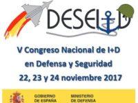 V Congreso Nacional de I+D en Defensa y Seguridad