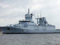 El nuevo buque de guerra de la Armada alemana tiene problemas tecnológicos