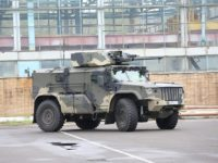 Rusia prueba el nuevo vehículo protegido Typhoon-VDV