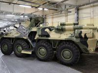 Rusia inicia la entrega de los APC BTR-82A