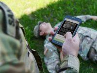 Aplicación médica fácil de usar en combate