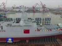 China construye destructores más rápidamente que Estados Unidos