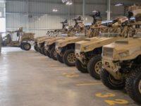 Auge del vehículo militar ultraligero ULCV