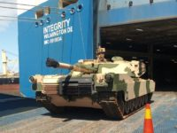 Marruecos recibe carros de combate Abrams M1
