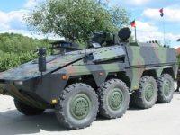 Nuevo programa de vehículos 8×8 inglés