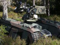 Kongsberg y Milrem robótica presentan un sistema robótico antitanque y ametralladora pesada
