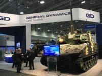 Visión de vehículo de combate de nueva generación de GDLS, Griffin III