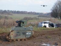 El Ejército británico ha probado robots en campos embarrados
