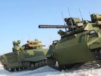 Entran en servicio en el Ejército ruso los robots URAN-9