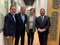 La dirección de AESMIDE se acerca a sus afiliados del País Vasco