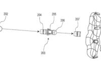 Granada de 40 mm con una red para atrapar drones pequeños