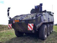 El Real Ejército de Tierra Danés recibe los primeros vehículos blindados de ruedas PIRANHA 5 y EAGLE 5