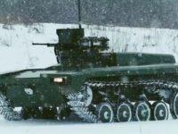 Rusia inicia las pruebas del Vehículo Terrestre no Tripulado (UGV) Marker