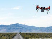 Radar de penetración en el suelo en drones