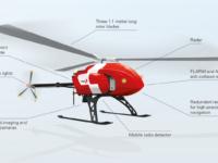 Avión no tripulado de rescate Rega