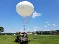 Sistema de aerostatos WASP Lite para el US Army