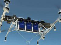 Primer vuelo al aire libre del vehículo aéreo de carga no tripulado de Boeing