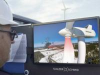 Más funciones para los drones: inspección masiva de aerogeneradores en Suecia y Finlandia