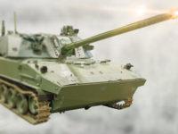 Cañón ruso autopropulsado y aerolanzable de 120 mm 2S42 Lotos