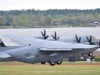 Avión del 53º Weather Reconnaissance Squadron de la Fuerza Aérea de Estados Unidos