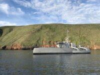 El LUSV se basará en el Sea Hunter, barco no tripulado, primero en navegar desde el continente a Hawaii